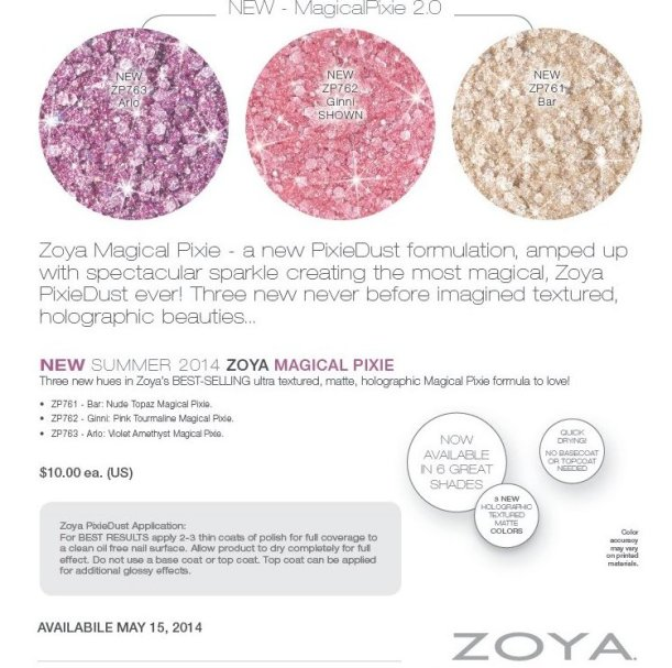 zoya magical pixie summer 2014 press release 2